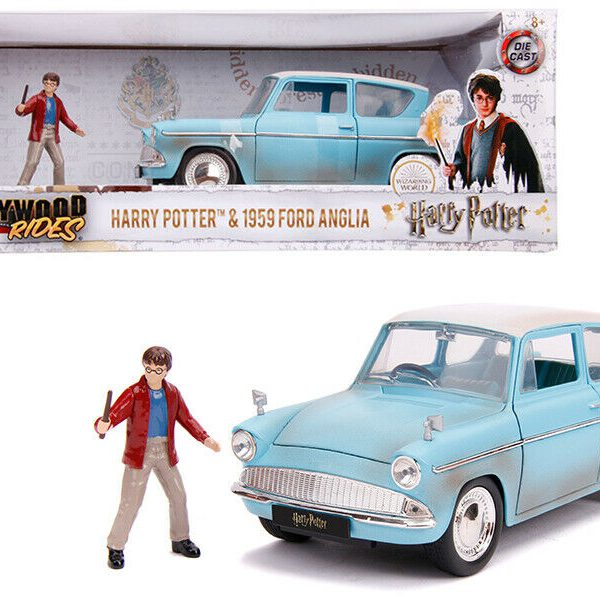 "Ford Anglia 1959 ""Harry Potter ""Hollywood Rides 1-24 Jada Toys"