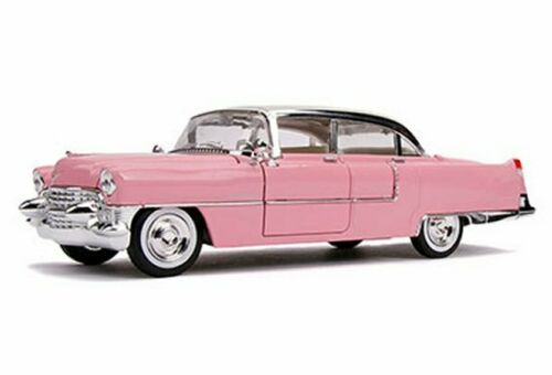 "Cadillac Fleetwood 1955 ""Elvis Presly ""Hollywood Rides Roze 1-24 Jada Toys"
