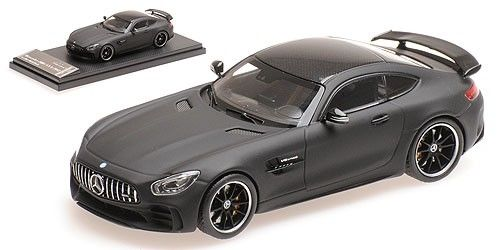 Mercedes-Benz AMG GT-R 2017 Leather Matt Black 1-43 Almost Real