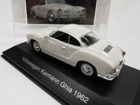 Volkswagen Karmann Ghia 1962 Wit 1-43 Altaya Volkswagen Collection