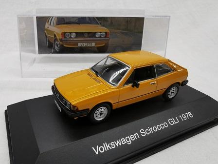 Volkswagen Scirocco GLI 1978 Oranje 1-43 Altaya Volkswagen Collection