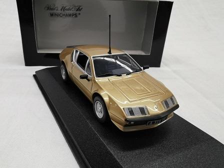 Renault Alpine A 310 1976 Koper 1-43 Minichamps Limited 3264 Pieces