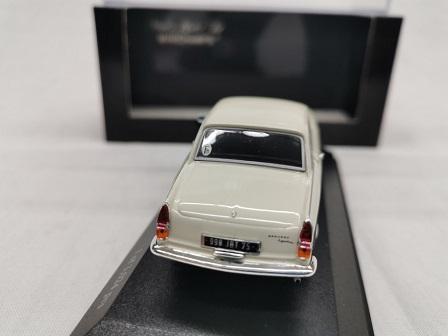 Peugeot 404 Coupe 1962 Cream 1-43 Minichamps Limited 3024 Pieces