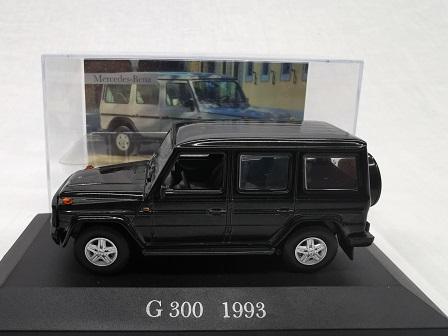 Mercedes-Benz G 300 1993 Zwart 1-43 Altaya Mercedes Collection