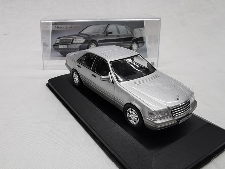 Mercedes-Benz 500 SE ( W140 ) 1991 Zilver 1-43 Altaya Mercedes Collection