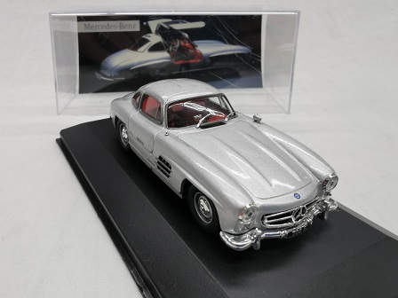 "Mercedes-Benz 300 SL ""Gullwing ""1954 Zilver 1-43 Altaya Mercedes Collection"