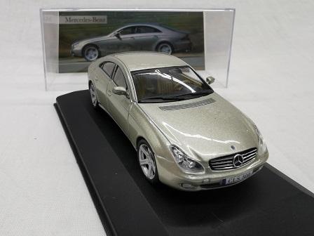 Mercedes-Benz CLS 500 ( C219 ) 2004 Brons Metallic 1-43 Altaya Mercedes Collection