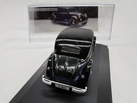 Mercedes-Benz 130 ( W23 ) 1934 Blauw / Zwart 1-43 Altaya Mercedes Collection