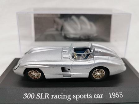 Mercedes-Benz 300 SLR Racing Sports Car 1955 Zilver 1-43 Altaya Mercedes Collection
