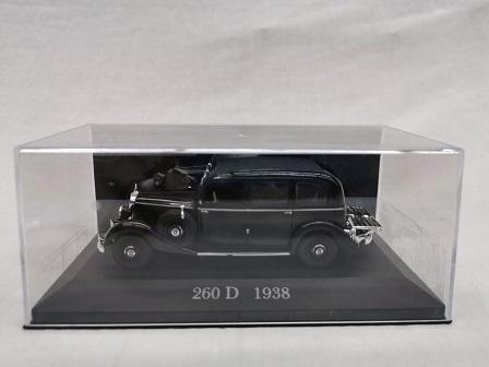 Mercedes-Benz 200 D ( W138 ) 1938 Zwart 1-43 Altaya Mercedes Collection