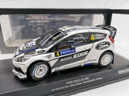 Ford Fiesta RS WRC Ford World Rally Team Rally Finland 2012 Solberg / Patterson 1-18 Minichamps Limited 504 Pieces