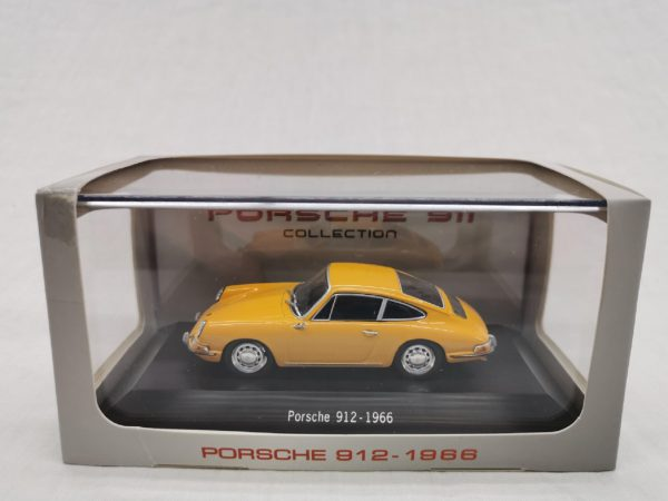 Porsche 912 1966 Oranje 1-43 Atlas Porsche Collection