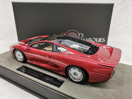 Jaguar XJ 220 1992-1994 Monza Rood Metallic 1-18 Top Marques Limited 100 Pieces