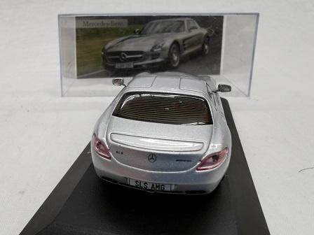Mercedes-Benz SLS AMG 2010 Zilver 1-43 Altaya Mercedes Collection