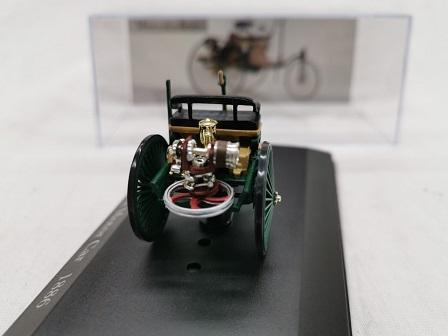 Mercedes-Benz Patent Motor Car 1886 Groen 1-43 Altaya Mercedes Collection