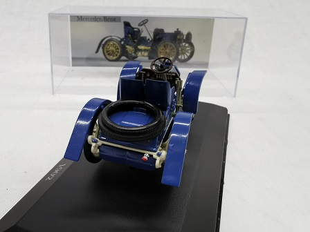 Mercedes-Benz 40 HP Simplex 1902 Blauw 1-43 Altaya Mercedes Collection