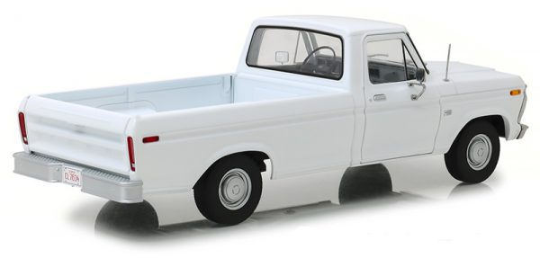 Ford F-100 1973 Wit 1-18 Greenlight Collectibles