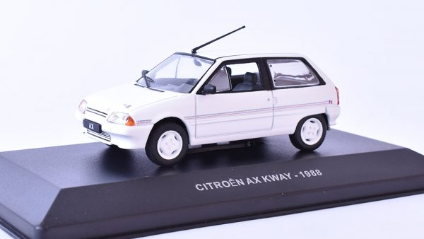 Citroen AX Kway 1988 Wit 1-43 Solido