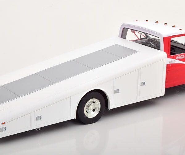 """Ford F350 Ramp Truck 1970 """"Coca-Cola"""" Allan Moffat Motor Racing 1-18 GMP/ACME"""