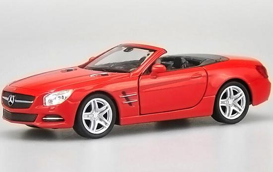 Mercedes-Benz SL500 2012 Rood 1-18 Welly