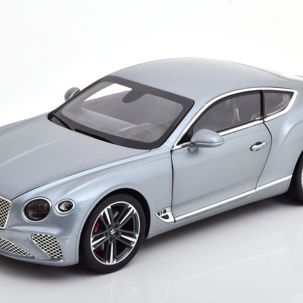 Bentley Continental GT 2018 Grijs Metallic 1-18 Norev