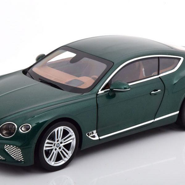 Bentley Continental GT 2018 Groen Metallic 1-18 Norev