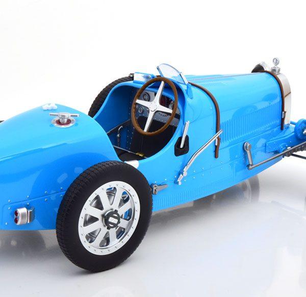 Bugatti T35 1925 Blauw 1-12 Norev