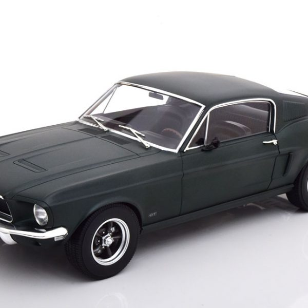 Ford Mustang Fastback Coupe 1968 Groen Metallic 1-12 Norev