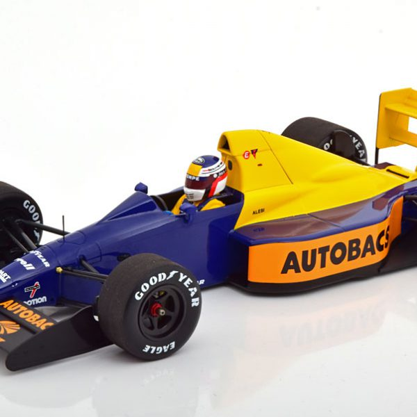 Tyrrell Ford 018 GP Japan 1989 J.Alesi 1-18 Minichamps Limited 300 Pieces