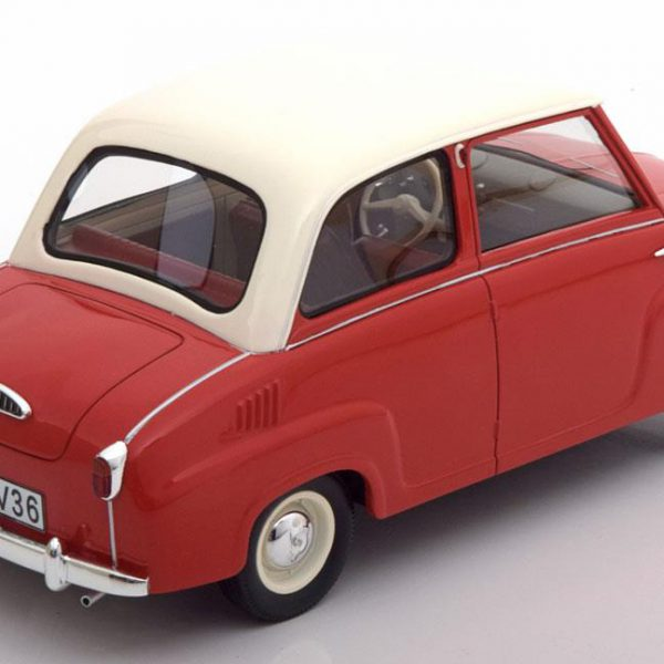 Goggomobil Limousine Rood / Wit 1-18 Schuco Pro.R
