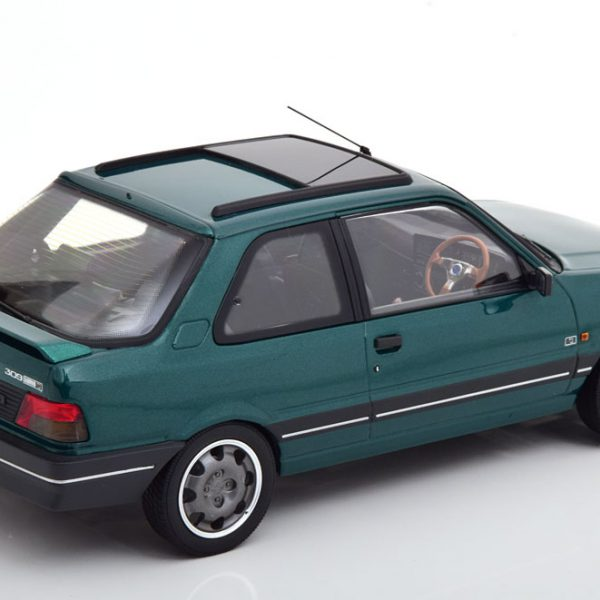 "Peugeot 309 GTi RHD 1991 ""Goodwood"" Green 1-18 Norev"