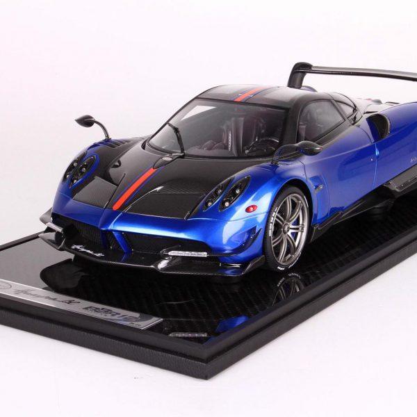 Pagani Huayra BC Blue Francia 1-12 BBR Models Limited 20 Pieces