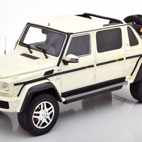 """Mercedes-Benz Maybach G650 """"Landaulet"""" Wit 1-18 Schuco Pro R"""