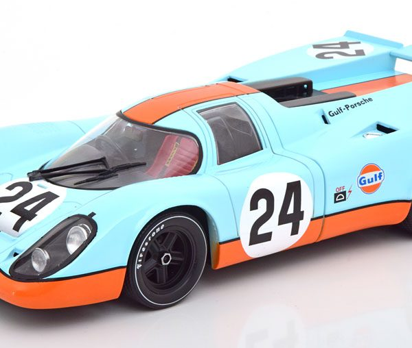 "Porsche 917K No.24, Winner 1000km Spa 1970 ""Gulf"" Siffert/Redman 1-18 CMR Models"