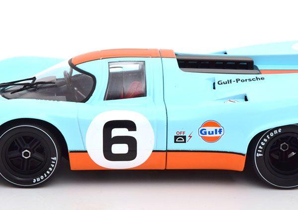 "Porsche 917K No.6, 1000km Brands Hatch 1971 ""Gulf"" Bell/Siffert 1-18 CMR Models"