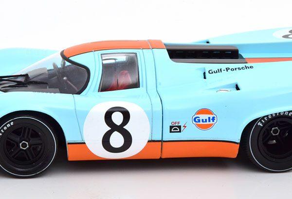 "Porsche 917K No.8, 1000km Monza 1970 ""Gulf "" Siffert/Redman 1-18 CMR Models"