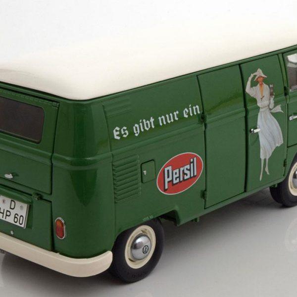 """Volkswagen T1 Transporter """"Persil"""" 1959 -1963 Groen 1-18 Schuco"""