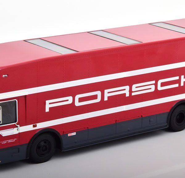 "Mercedes-Benz O317 ""Porsche Renntransporter""1968 Porsche Service Rood 1-43 Schuco Limited 600 Pieces"