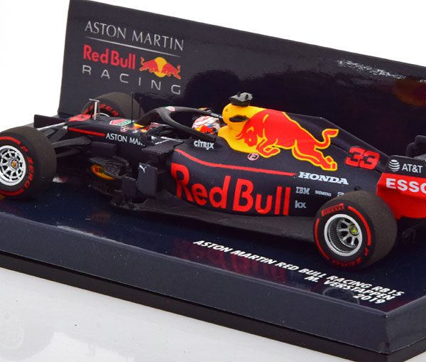 Aston Martin Red Bull Racing RB15 2019 Max Verstappen 1-43 Minichamps