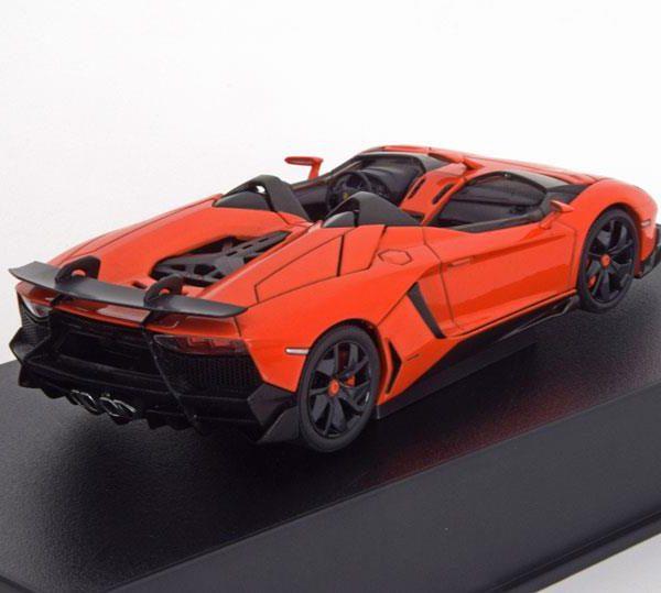 Lamborghini Aventador J Roadster 2012 Oranje Metallic 1-43 Autoart