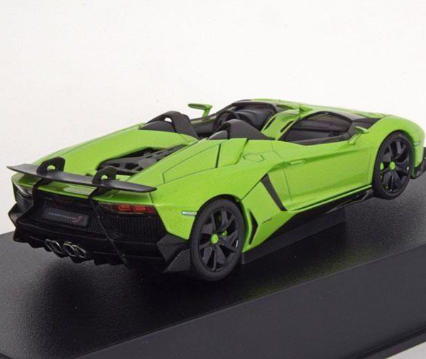 Lamborghini Aventador J Roadster 2012 Groen Metallic 1-43 Autoart