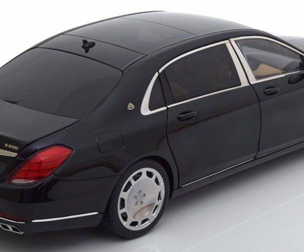 Mercedes-Benz Maybach S-Klasse ( S600 )SWB 2015 Zwart 1-18 Autoart