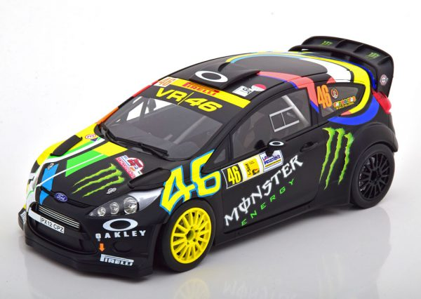 Ford Fiesta RS WRC Winner Monza Rally Show 2012 Rossi/Cassina 1-18 Minichamps Limited 702 Pieces