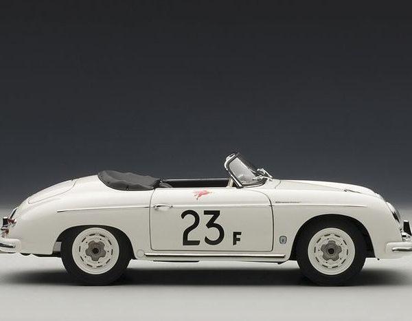 Porsche 356 Speedster James Dean 1955 #23 White 1-18 Autoart