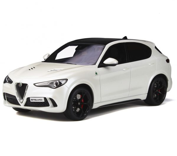 Alfa Romeo Stelvio Quadrifoglio 2017 Wit 1-18 Ottomobile Limited 1500 Pieces