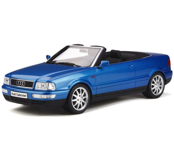 Audi 80 Cabriolet 1998 Pelican Blue 1-18 Ottomobile Limited 1000 Pieces