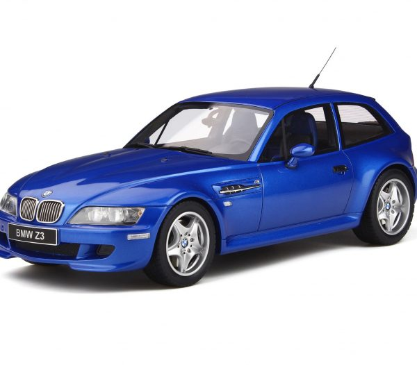 BMW Z3 M Coupe 3.2 1999 Estoril Blauw 1-18 Ottomobile Limited 2000 Pieces