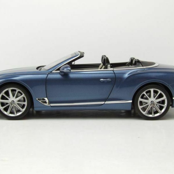 Bentley Continental GTC Convertible 2019 Blue Crystal Metallic 1-18 Norev