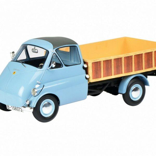 Isocarro Pritschenwagen Blauw 1-18 Schuco