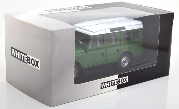 Land Rover 109 Serie III Groen 1:24 Whitebox Limited 1000 Pieces